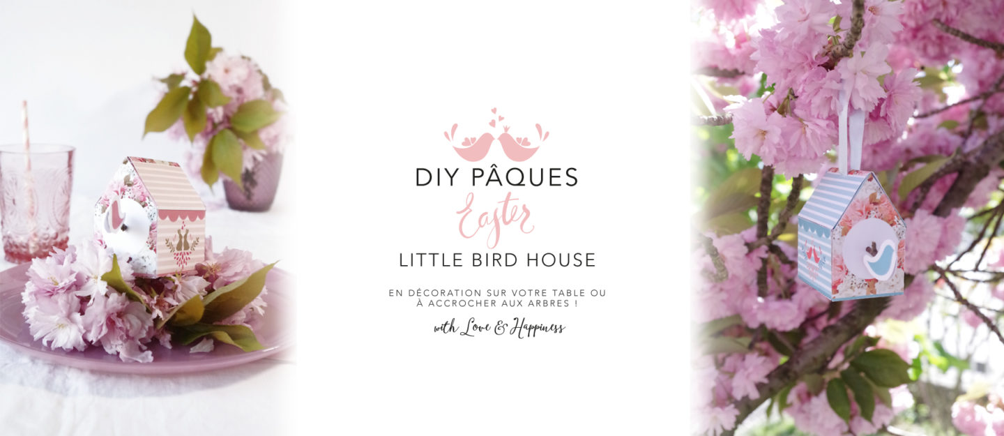 DIY paques Little bird house