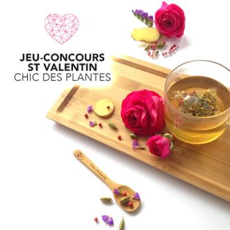 JEU-CONCOURS ST-VALENTIN Chic des Plantes Fantasma
