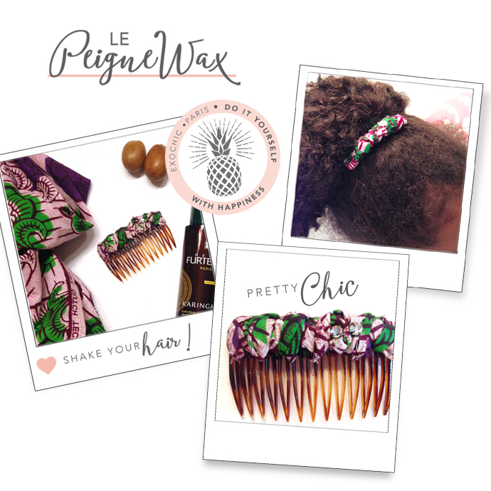 DIY accessoires cheveux wax exochic