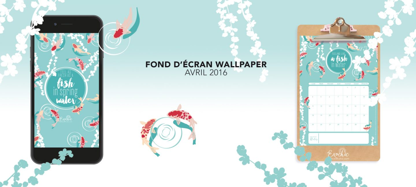 fond d'ecran Wallpaper avril exochic