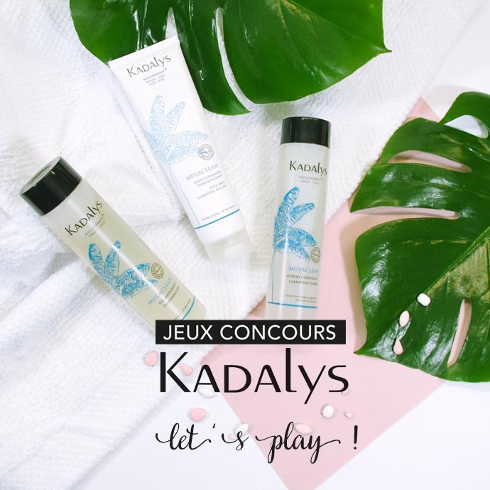 JEU CONCOURS KADALYS : UN RITUEL NETTOYANT COMPLET À GAGNER !