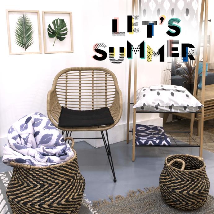 Conforama Déco été 2018 : Let's Summer !