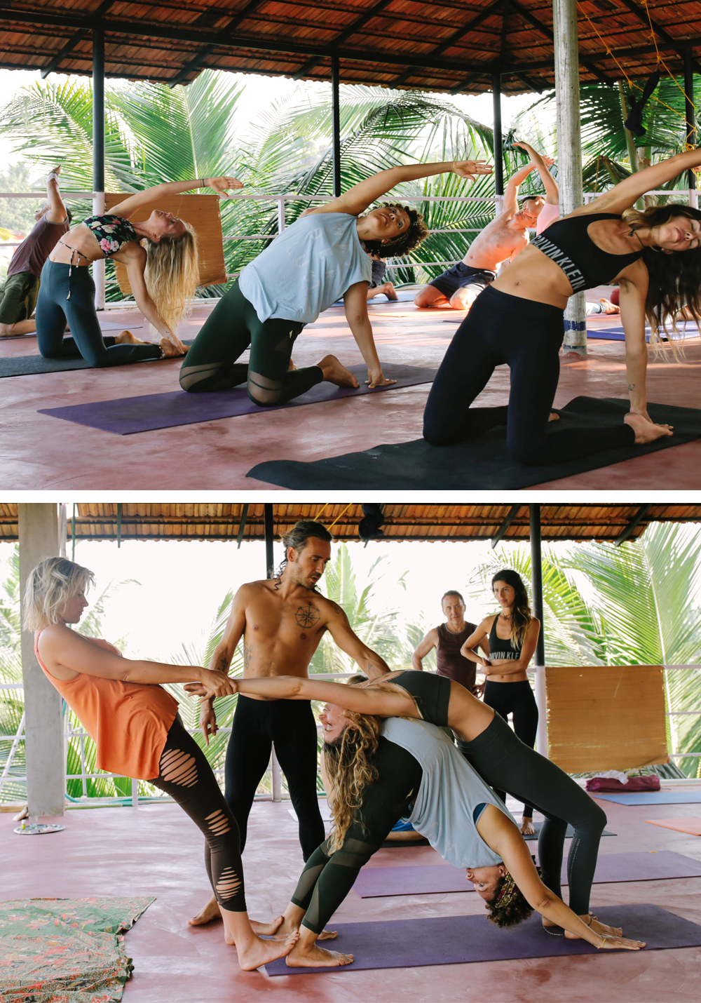 Goa Yoga Retreat les Amazones Parisiennes exochic