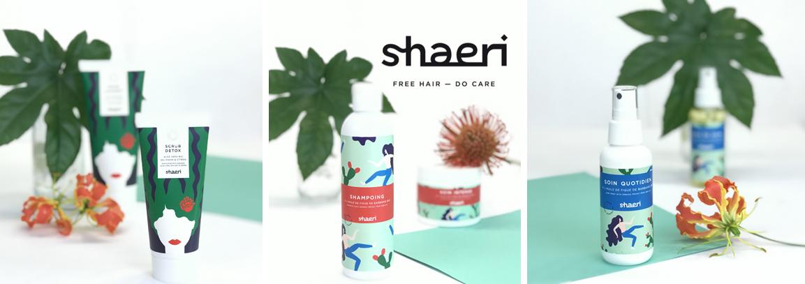 shaeri les soins capillaires pour cheveux frises exochic