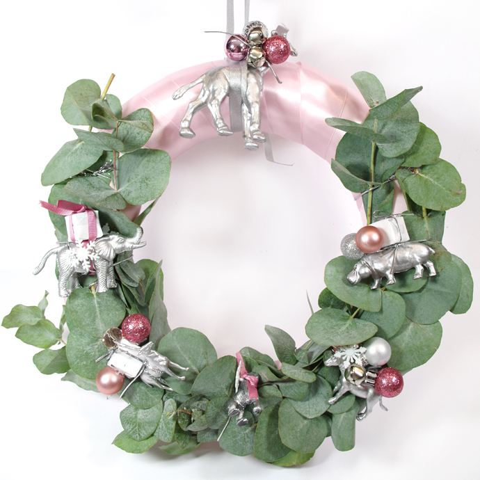 DIY COURONNE DE NOËL : CHRISTMAS IS MAGIC !