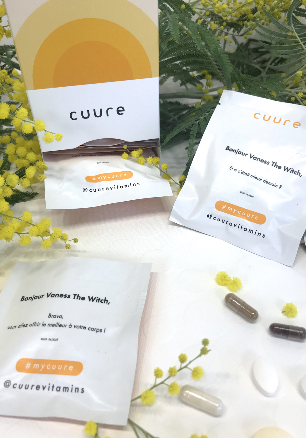 cuure complement alimentaire personnalise exochic